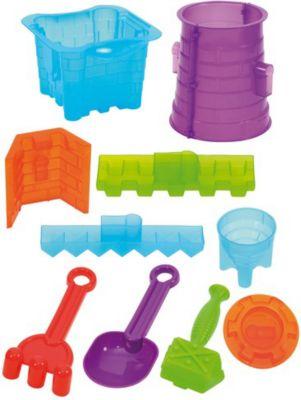 eduplay-160-002-riesen-sandformen-set-castle-fur-sandburgen-mehrfarbig-11-teilig-1-set-
