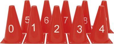 eduplay-170-163-markierungskegel-zahlen-rot-10-teilig-1-set-