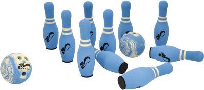 EDUPLAY Soft-Bowling mit 10 Pins und 2 Bowling ...