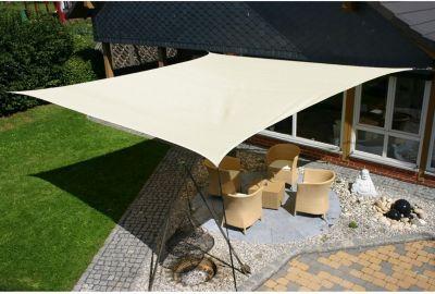 EDUPLAY 160-058 Sonnenschutz Sonnensegel, 5x5m,...