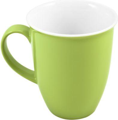 by R&ampB 515800 ´´Doppio´´ Kaffeebecher / Kaffeetasse 320 ml, Ø 9 x 10 cm, grün (1 Stück)