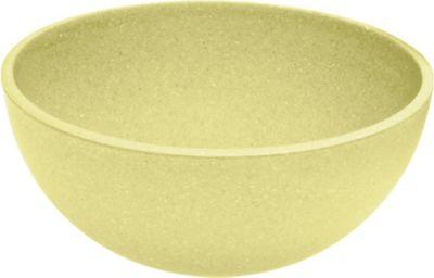 Magu Schale Natur Design aus natürlichen Materialien, Ø 16 cm, gelb (1 Stück)