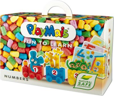 PlayMais 160170 FUN TO LEARN Numbers Nummern &a...