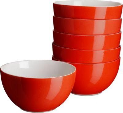 domestic-927228-swoon-muslischale-14cm-porzellan-rot-6er-pack-