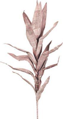 Schaumblume / Kunstblume ´´Riesen-Palm Lilie´´, 100 cm, altrosa &amp creme (1 Stück)