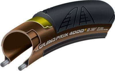Continental 0100944 ´´Grand Prix 4000 S II´´ Road-Reifen, faltbar, 23-622 (28´´, 700x23C), schwarz/transparent (1 Stück)