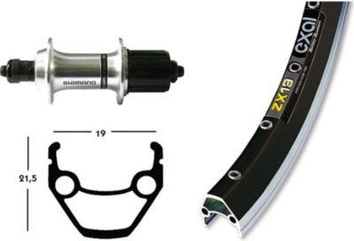 hinterrad-28-exal-zx-19-gespeicht-36-loch-nabe-shimano-tx800-8-10-fach-schwarz-silber-1-stuck-