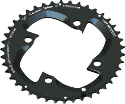 272703 Kettenblatt MTB Shimano 2x10 für XT FC M785 4-Arm außen 40(28) Zähne, schwarz (1 Stück)