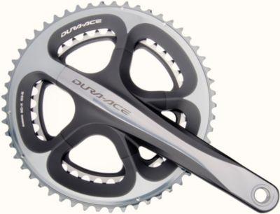 *IFC9000CX39 Kurbekgarnitur ´´Dura-Ace´´ FC-9000, 39/53 Zähne, 170 mm, Hollowtech II, 11-fach, schwarz/silber (1 Stück)