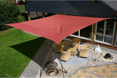 EDUPLAY 160132 Sonnenschutz Sonnensegel, 5x5m, ...