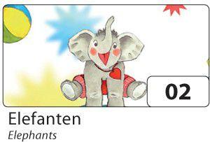folia-motivkarton-270g-m-50x70cm-elefanten-mehrfarbig-10-bogen-