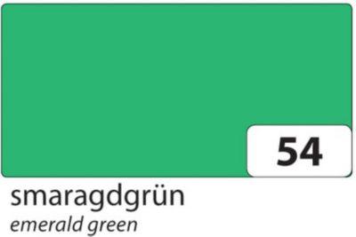 folia 6122/10 54 Tonkarton 220g/m², 50x70cm, smaragdgrün (10 Bogen) - Preisvergleich