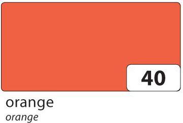 Folia Tonpapier, 130 g/m², 50 x 70 cm, orange (100er Pack) - Preisvergleich