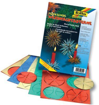 folia-funkelnde-weihnachtssterne-set-aus-alufolie-fur-6-sterne-mehrfarbig-48-teilig-1-set-