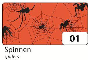 Folia 85601 Transparentpapier Halloween 115g/m²...