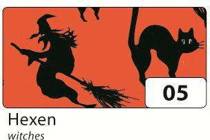 Folia Transparentpapier Halloween 115g/m², 50,5...