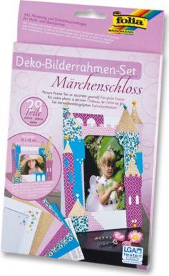 Deko Bilderrahmen, Märchenschloß, mehrfarbig, 29-teilig (1 Set)