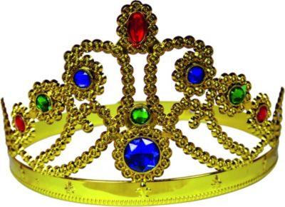 BestSaller 1307 Goldene Prinzessinen-Krone, gol...