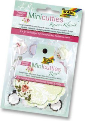 folia-designpapier-mini-cutties-duo-set-klassik-rosen-2x-24-anhanger-mehrfarbig-48-teilig-1-set-