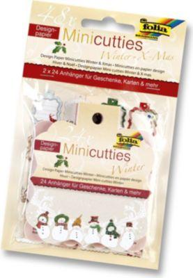 folia-designpapier-mini-cutties-duo-set-winter-x-mas-2x-24-anhanger-mehrfarbig-48-teilig-1-set-