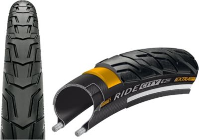 0101555 Reifen Ride City Draht 28x1.60´´ 42-622, schwarz/reflex (1 Stück)