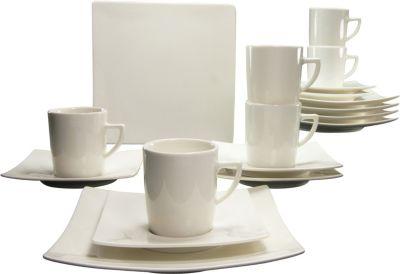 Rosenthal Maria Weiß Porzellan & Keramik Edles 18 Teiliges Kaffeeservice Für 6 Personen Duftendes Aroma