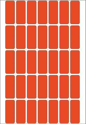 HERMA Vielzwecketiketten rot 12x30 mm Papier matt 1120 St.