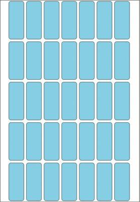 HERMA Vielzwecketiketten blau 12x30 mm Papier matt 1120 St.