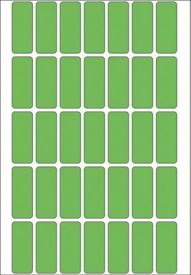 HERMA Vielzwecketiketten grün 12x30 mm Papier matt 1120 St.