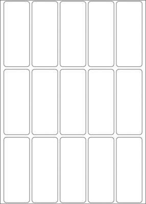 HERMA Vielzwecketiketten weiß 20x50 mm Papier matt 480 St.