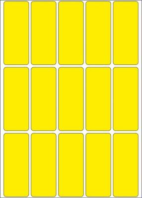 HERMA Vielzwecketiketten gelb 20x50 mm Papier matt 480 St.