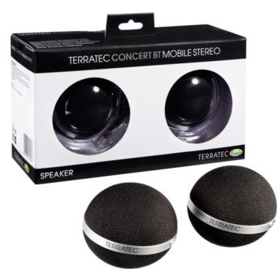 Aktivbox TERRATEC CONCERT BT stereo Bluetooth schwarz