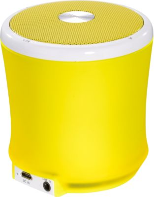 Aktivbox TERRATEC BT NEO gelb XS - Bluetooth
