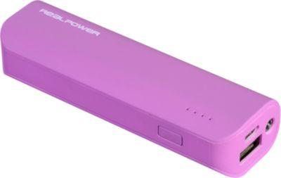 Powerbank RealPower PB2600 mAh purple