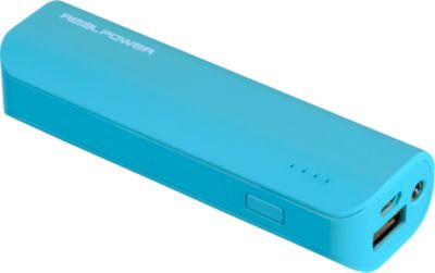 Powerbank RealPower PB2600 mAh blau
