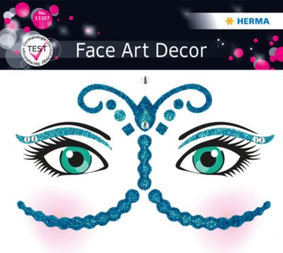 Face Art Sticker Bollywood