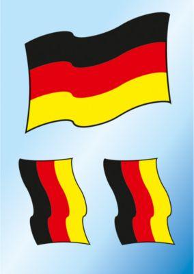 Bügelbilder Deutschland Fahne