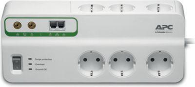APC SurgeProtector PMH63VT-GR 6-fach Überspannungsschutz