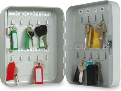 Schlüsselkasten 20 Haken Zylinderschloss