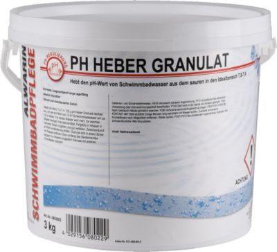 ALWARIN Schwimmbadpflege PH Heber Granulat, 3 kg | Garten > Swimmingpools > Poolpflege | ZAWA GmbH