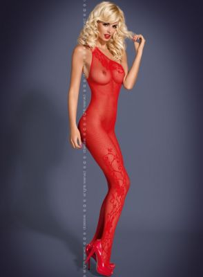 Bodystocking F203 rot Größe: S-L one-size