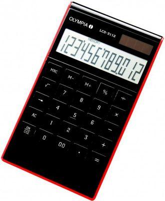LCD 3112 Tischrechner, schwarz