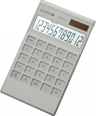 LCD 3112 Tischrechner, weiß