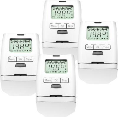 4er Set Elektronischer Heizkörperthermostat Thermostat Thermostatventil HT 2000 Made in Germany