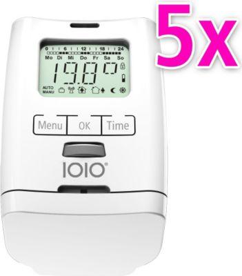 5er Set Elektronischer Heizkörperthermostat Thermostat Thermostatventil HT 2000 Made in Germany
