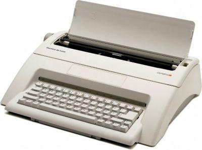 Carrera de luxe Schreibmaschine