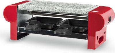H.koenig RP2 Raclette Grill mit Granitstein für 2 Personen 400W