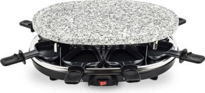 RP85 Raclette Grill mit Granitstein für 8 Personen 900W