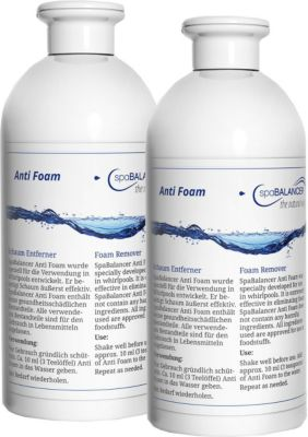 2er Pack SpaBalancer Anti Foam 0,5 L