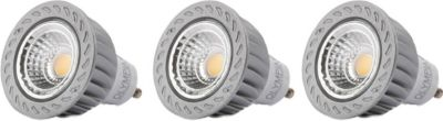 3er Set Olympia High Power LED GU10 5Watt warmweiß 400 Lumen vgl. 35W Halogen